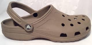 crocs womens size w 10 11 m 8 9 beige clogs slingbacks sandals
