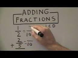 adding fractions with unlike denominators adding fractions with unlike denominators
