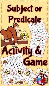 25 best subject predicate activities ideas on pinterest writing