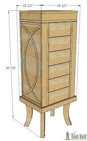Woodworking Plans For Dressers Free by Jewelry Cabinet Her Tool Belt
