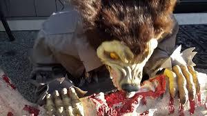 deady teddy spirit halloween wolf spitter halloween haunted house prop youtube