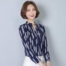 sleeve chiffon blouse casual striped sleeve chiffon blouse modesty fashion com
