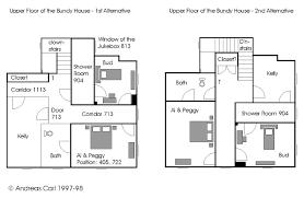 house floor plan bundyology house plans floor and basement of the bundy house