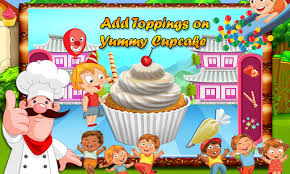 cup cake maker kids game android apps on google play