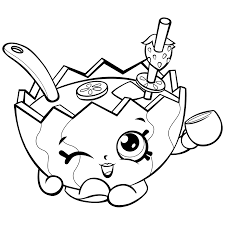 mallory watermelon shopkins coloring page shopkins coloring