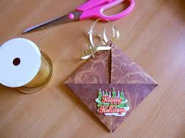 make a gift card how to make an origami gift card envelope