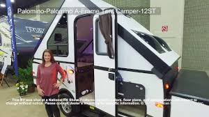 palomino palomino a frame tent camper 12st youtube