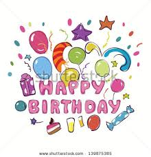 birthday cards for kids happy birthday greeting card kids vector stock vector 139875385