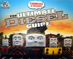 ultimate guide thomas friends diesel train book