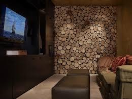 circular wood wall aluminium metalen systeemplafond met sterrenhemel home decor