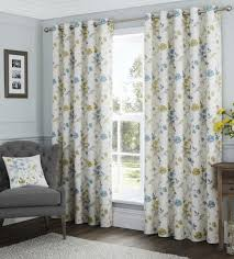 Grey Cream Curtains Duckegg Grey Cream Curtains Eyelet Lined 100 Cotton Country