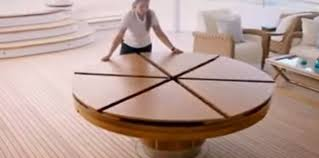 expandable round dining table design of expandable round dining table
