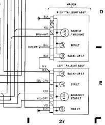 tail lights wiring diagram wiring diagram simonand