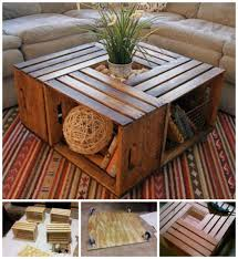Wine Crate Coffee Table Diy by Počet Nápadov Na Tému Wooden Crate Coffee Table Na Pintereste 17