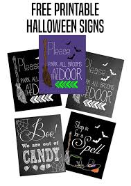 please park all brooms at the door halloween printable tips from