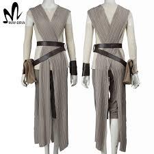 Star Wars Halloween Costumes Adults Star Wars Costume Force Awakens Rey Cosplay Costume