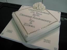 60th anniversary decorations 60th anniversary diamond cake 60th wedding anniversary
