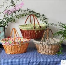 baskets for gifts willow wicker woven baskets for gifts fruits food ect for sale