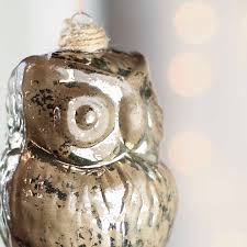 owl ornaments mercury glass owl ornaments christmas ornaments christmas and
