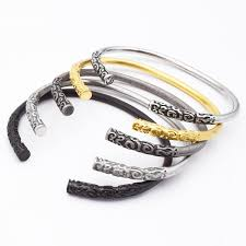 luxury men bracelet images New high design luxury brand men bracelet bangle quality jpg