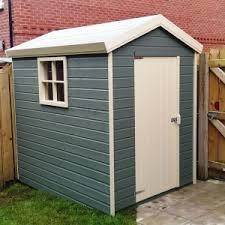 garden sheds painted interior design