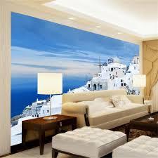 photo wallpaper custom 3d mural living room india seaside