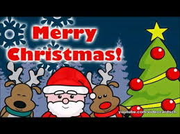 christmas greeting cards santa claus wish you merry christmas