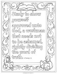 coloring pages for kids by mr adron printable 2 timothy 3 15