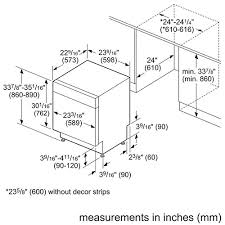 Dishwasher Dimensions Standard Size Home by How To Measure Your Kitchen For A New Dishwasher Best Buy Blog
