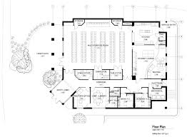 commercial building floor plan designs