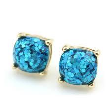 glitter stud earrings glitter stud earrings pearlsandrocks