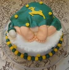 deere baby shower deere baby rump shower cake cakecentral