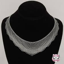 platinum necklace images Jewelry necklaces platinum mesh estate necklace jpg