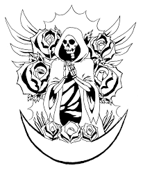 santa muerte by pkoller on deviantart