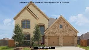 elyson 65 u0027 in katy tx new homes u0026 floor plans by perry homes