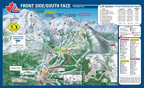 Keystone Colorado Map by About The Lake Louise Ski Area Travel Pinterest Lakes Trail