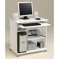 carrefour ordinateur bureau bureau d ordinateur pas cher city informatique classique blanc mat l