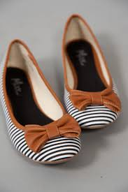 i love these flats zapatos pinterest ballet flat striped