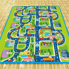 Kids Play Rugs With Roads by Car Play Mat Rug Canada Creative Rugs Decoration