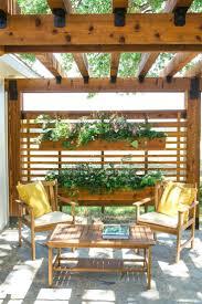 patio ideas outdoor patio privacy screen ideas retractable