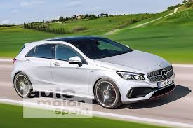 mercedes a class second the 2018 mercedes a class and the second generation compact family