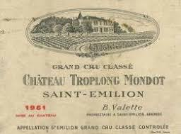 learn about chateau troplong mondot 1961 château troplong mondot bordeaux libournais st