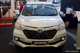 2016 toyota avanza spotted in malaysia prices leaked