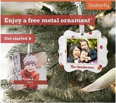free shutterfly custom ornament