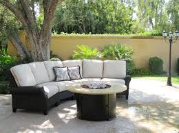 Curved Wicker Patio Furniture - exterior design appealing outdoor furniture design with janus et