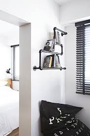 Industrial Looking Bookshelves by 10 Industrial Style Homes With Exposed Pipes And Trunking