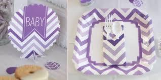 lavender baby shower decorations purple chevron baby shower decorations theme babyshowerstuff