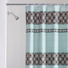 mainstays dimitri fabric shower curtain blue walmart com