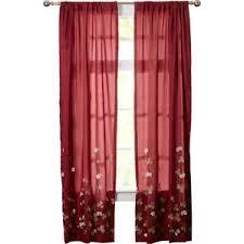 Plum Flower Curtains Floral Curtains U0026 Drapes You U0027ll Love Wayfair