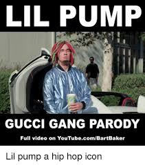 Parody Meme - lil pump gucci gang parody full video on youtubecombartbaker lil